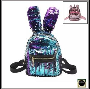Sequin Mini Backpack- 2 Styles, Sizes, & colors